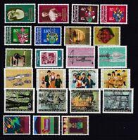 Liechtenstein postfrisch Jahrgang 1980-1989 siehe Bilder