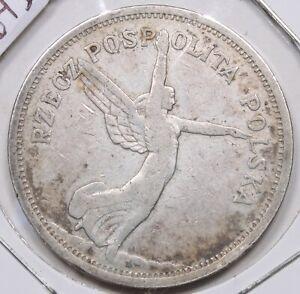 1928 Poland Silver 5 Zltych 264I