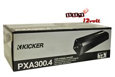 Kicker PXA300.4 PXA Series 4 Channel Car Audio Amplifier - Black
