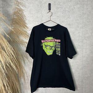 Vintage 2007 George A Romero Texas Frightmare Weekend Black Horror T-Shirt