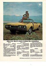 1968 OLDSMOBILE 4-4-2 / 442 (400/350 HP) ~ ORIGINAL MUSCLE CAR AD