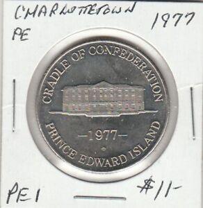 Charlottetown, PE 1977 Trade Dollar