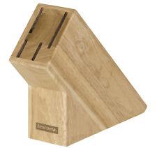 Tescoma Messerblock universal unbestückt ohne Messer für 4 Messer aus Holz