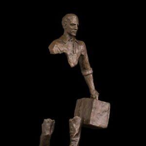 Bronze Sculpture Modern Art Home Decoration Man Statue Abstract Decorative Decor
