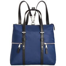 INC International Concepts I.N.C. Haili Nylon Convertible Backpack NEW OSFA NAVY