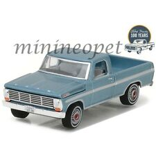 GREENLIGHT 27920 B 100 YEARS ANNIVERSARY 1967 FORD F-100 1/64 LIGHT BLUE
