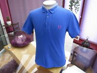 "Fred Perry RAF SIMONS Large Polo T Shirt  - 40"" Chest"