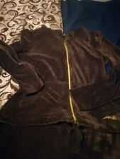 Kaliko velour hooded suit fit size 12 to 14