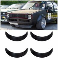 Universal Fender Flares 4 pcs 90 mm 3,5 inches Abs Plastic Shagreen