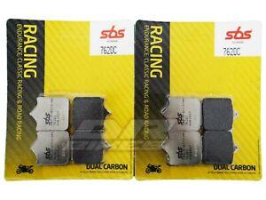 Ducati 999 R 03 04 05 06 07 SBS Dual Carbon Front Brake Pads 762DC