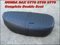 HONDA DAX 50 70 CT70 ST50 ST70 Complete Double Seat  Metal Base  // Reproduction