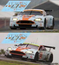 Decals Aston Martin DBR9 Le Mans 2008 1:32 1:43 1:24 1:18 slot AMR Gulf calcas