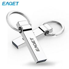 Eaget USB 3.0 32GB Flash Disk Drive Stainless Metal Media Storage