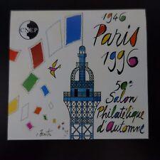 FRANCE BLOC CNEP N°23a NON DENTELÉ IMPERF TOUR EIFFEL PARIS 1996 NEUF ** MNH
