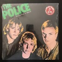 "Rare Green Logo The Police ""Outlandos D'Amour"" Vinyl LP A&M SP4753  NEW & SEALED"