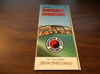FEBRUARY 1959 NORTHERN PACIFIC NORTH COAST LIMITED NORTHWEST ADVENTURE BROCHURE