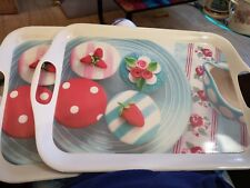 Pair Of Serving Trays From Home Etc