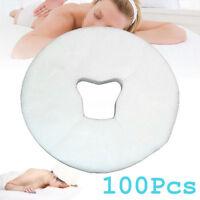 100Pcs Disposable Massage Headrest Cover Non Sticking Face Rest Cradle Equipment