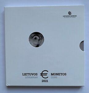2021 Lithuania LB --FLUXUS--   €  Coin set