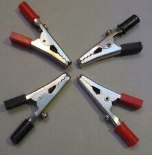 LOT de 4 PINCES CROCODILE 54mm pour mesures tests électriques Modélisme divers