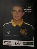 20715 Silvio Zimmermann 1.FC Lok Leipzig 05 - 06 unsignierte Autogrammkarte