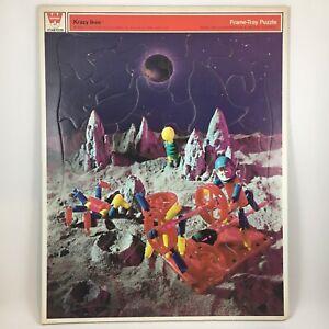 Vintage 1969 Whitman Krazy Ikes Puzzle Space Alien Moon Landing Astronaut USA