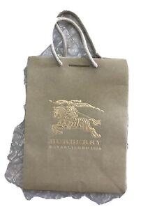 """Burberry original Paper Shopping Bag 7 1/4""""  X  9 1/2"""""""