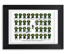 More details for south africa rugby world cup winners 2019 squad team signed poster photo jersey