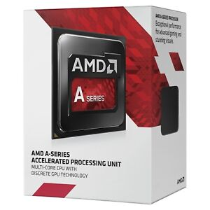 AMD 1.3 GHz 2MB Cache Sempron 3850 4 Core 4 Thread Desktop CPU AM1 Processor