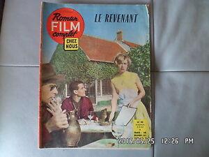 ROMAN FILM CHEZ NOUS N°90 02/02/1962 ANNE MARIE COFFINET FRANCOIS MARIE      G17