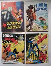 Lotto 4 fumetti Il Piccolo Ranger 1973 n.117 Il Fantasma dell'opera +156+214+216