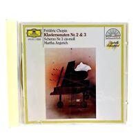 Martha Argerich  Klaviersonaten 2+3 Scherzo 3 CD Perfect Condition Throughout