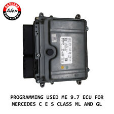 PROGRAMMING USED ME 9.7 ECU FOR MERCEDES C E S CLASS ML AND GL