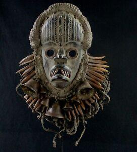 Art Africain - Superbe Masque de Chanteur Dan Guéré- African Mask - 36 Cms +++++