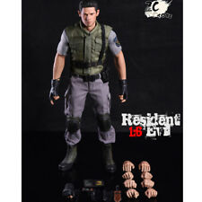 1/6 Collectable Figure Chris Redfield Action Full Set doll Clothing