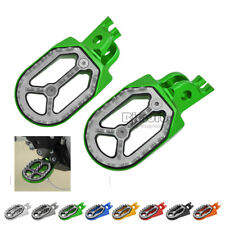 Foot Pegs Pedal Footpegs For Kawasaki KX250 KX250F KX450F KLX450 SUZUKI RM250