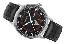 Junkers Men's 6946-2 G38 42mm Pilot's Watch with GMT Function