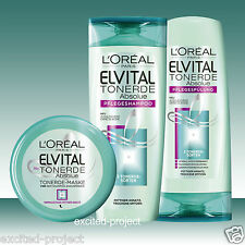 Loreal Paris Elvital Absolue Tonerde Shampoo + Conditioner + Hair Mask Set