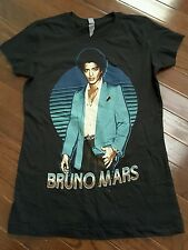 Bruno Mars Moonshine Jungle Tour 2013 Concert T Shirt Womens S
