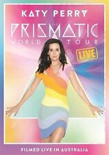 KATY PERRY PRISMATIC WORLD TOUR LIVE Filmed in Sydney DVD ALL REGIONS NTSC NEW
