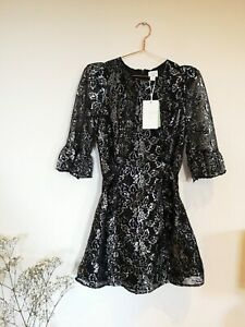 The Vampire's Wife X H&M Gothic Romance Mini Lace Dress, Size 10. BNWT