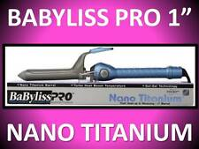 "NEW NO BOX! BABYLISS PRO NANO TITANIUM 450° TURBO SOL-GEL 1"" SPRING CURLING IRON"
