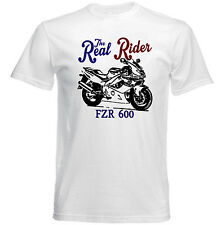 VINTAGE JAPANESE MOTORCYCLE YAMAHA FZR 600R - NEW COTTON T-SHIRT
