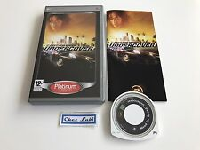 Need For Speed Undercover - Platinum - Sony PSP - FR - Avec Notice