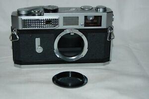 Canon-7 Vintage 1965 Japanese Rangefinder Camera. Serviced. No.933482. UK Sale