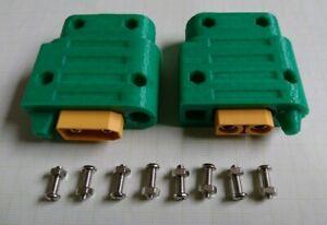 1 Satz XT90 male&female Steckverbindung Kabelschutz Halter Verpolungsschutz Key