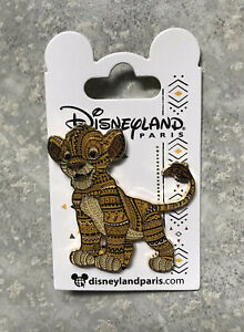 Disney DLP DLRP Disneyland Paris Tribal Lion King Simba Pin Cub
