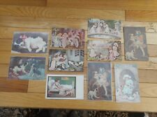 Lot of 10 Vintage Jack Russel Terrier Dog Picture Postcards Early 1900's Antique