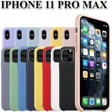 Funda Carcasa de Silicona Suave Líquida para iPhone 11 Pro Max - Diseño Original