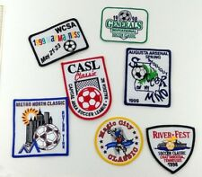 Youth Soccer Tournament Patch Lot 7 Patches 1998-99 NOS